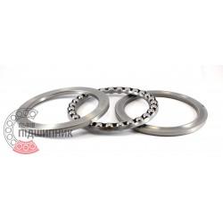 51117 [GPZ-34] Thrust ball bearing