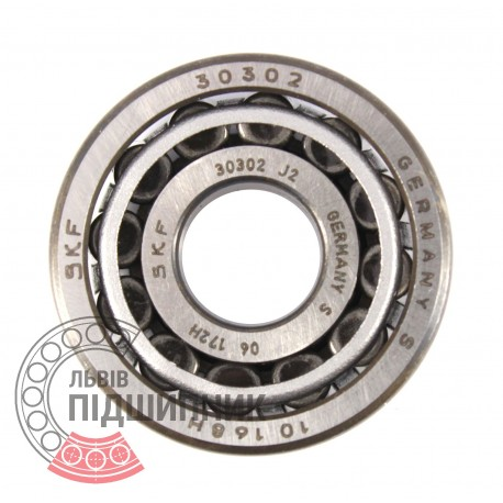 SINGLE CONE 30302 SKF TAPERED ROLLER BEARING