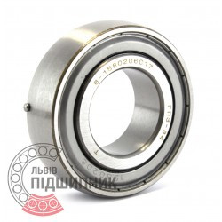 1580206 [GPZ-34] Deep groove ball bearing