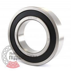 6210-2RS [ZVL] Deep groove ball bearing