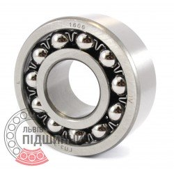 2306 [GPZ-34] Self-aligning ball bearing