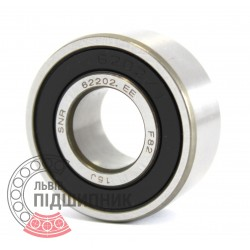62202EE [SNR] Deep groove ball bearing