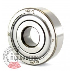 6200-2Z [SKF] Deep groove ball bearing