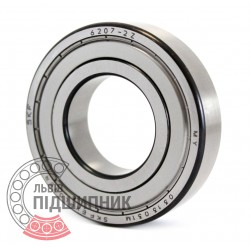 6207-2Z [SKF] Deep groove ball bearing
