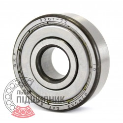 6301-2Z [SKF] Deep groove ball bearing