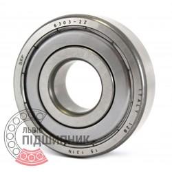 6303-2Z [SKF] Deep groove ball bearing