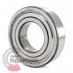 6206-2Z [SKF] Deep groove ball bearing