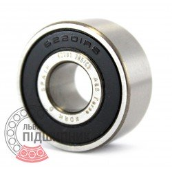 62201 2RSC3 [Fersa] Deep groove ball bearing