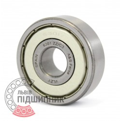6301 ZZ C3 [Fersa] Deep groove ball bearing