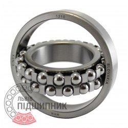 1210 [Kinex ZKL] Self-aligning ball bearing