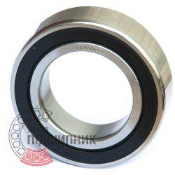B7011C-2RSD-T-P4S-UL [FAG] Angular contact ball bearing
