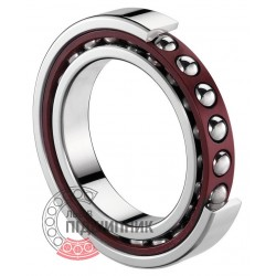 7018.CV.U.J74 [SNR] Angular contact ball bearing