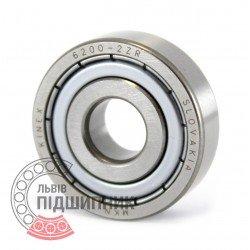 6200-2ZR [Kinex ZKL] Deep groove ball bearing