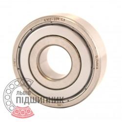 6302-2ZR C3 [Kinex ZKL] Deep groove ball bearing
