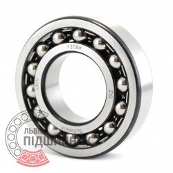 1206 K [ZVL] Self-aligning ball bearing