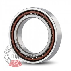 B7203-E-T-P4S-UL [FAG] Angular contact ball bearing