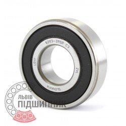 6203-2RS C3 [ZVL] Deep groove ball bearing