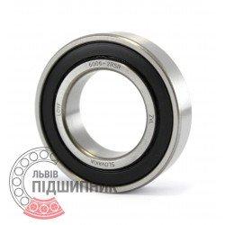 6006-2RS [ZVL] Deep groove ball bearing