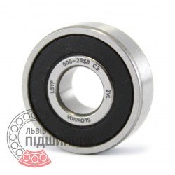 608-2RS C3 [ZVL] Deep groove ball bearing