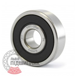 6301-2RS [ZVL] Deep groove ball bearing