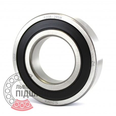 6208-2RS [ZVL] Deep groove ball bearing