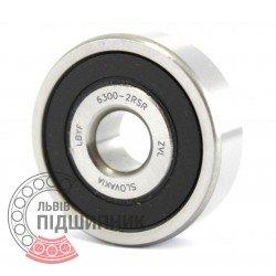 6300-2RS [ZVL] Deep groove ball bearing