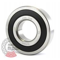 6306-2RS [ZVL] Deep groove ball bearing