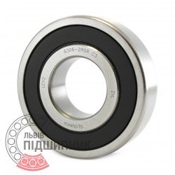 6306-2RS C3 [ZVL] Deep groove ball bearing