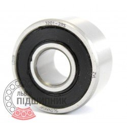 3201-2RS [ZVL] Angular contact ball bearing