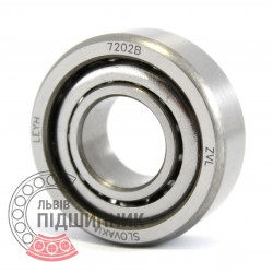 7202 B [ZVL] Angular contact ball bearing