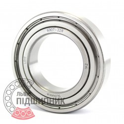 6007-2ZR [ZVL] Deep groove ball bearing