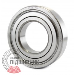 6208-2ZR [ZVL] Deep groove ball bearing
