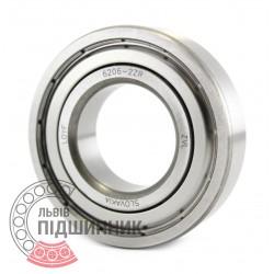 6206-2ZR [ZVL] Deep groove ball bearing