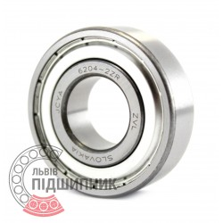 6204-2ZR [ZVL] Deep groove ball bearing