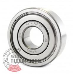 6303-2ZR C3 [ZVL] Deep groove ball bearing