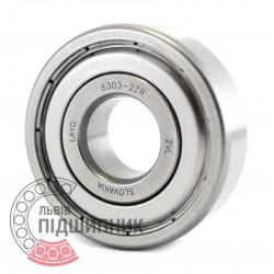 6303-2ZR [ZVL] Deep groove ball bearing