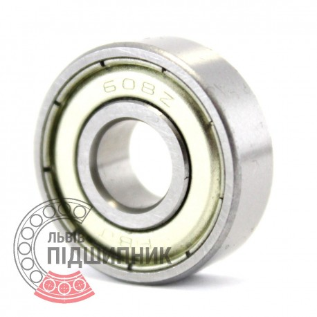 608ZZ [FBJ] Deep groove ball bearing