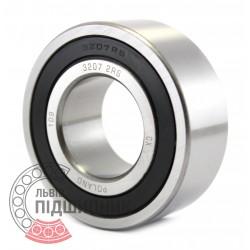 3207 2RS [CX] Angular contact ball bearing