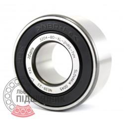 3204-BD-2HRS-TVH [FAG] Angular contact ball bearing