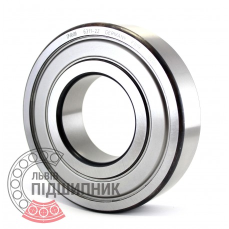 SKF 6305-2Z Deep Groove Ball Bearings 25x62x17 mm