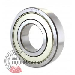 6312ZZ Deep groove ball bearing