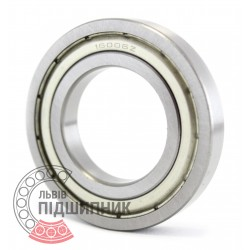 16006 ZZ Deep groove ball bearing