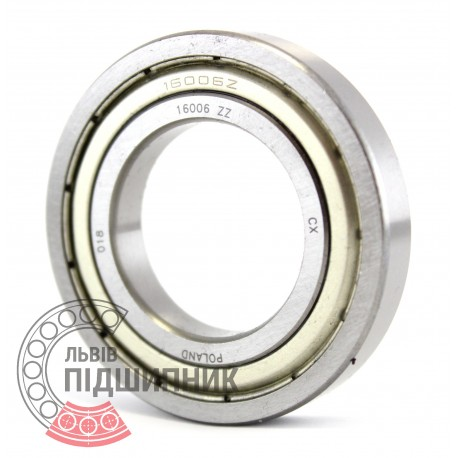 16006 ZZ [CX] Deep groove ball bearing