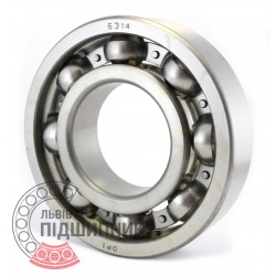 6314 [DPI] Deep groove ball bearing