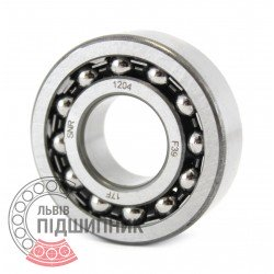 1204 [SNR] Self-aligning ball bearing
