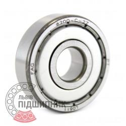 6200-2Z [FAG] Deep groove ball bearing