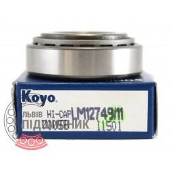 LM12749/11 [Koyo] Tapered roller bearing