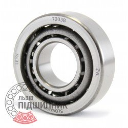 7203 B [ZVL] Angular contact ball bearing