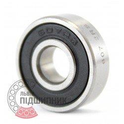607 2RS [GPZ-34] Deep groove ball bearing