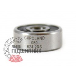 624 2RS [CX] Deep groove ball bearing